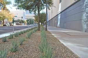 Digital Realty East Sidewalk.