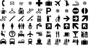 Standard City Signage Symbols