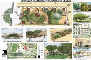 Estrella Elementary Conceptual Courtyard Design