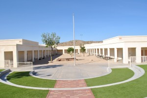 Existing Courtyard (Why is everything so beige in Arizona)