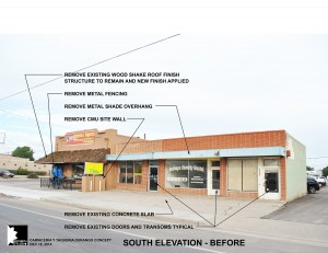 Carniceria Y Taqueria Durango Proposed Existing / Demo