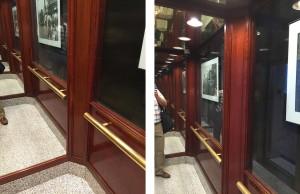 original elevator cab