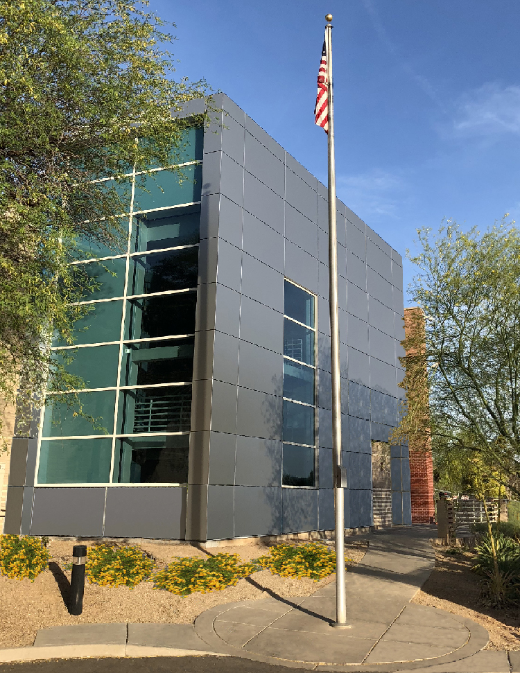 exterior office. Commercial Architecture - Exterior Improvements After Office