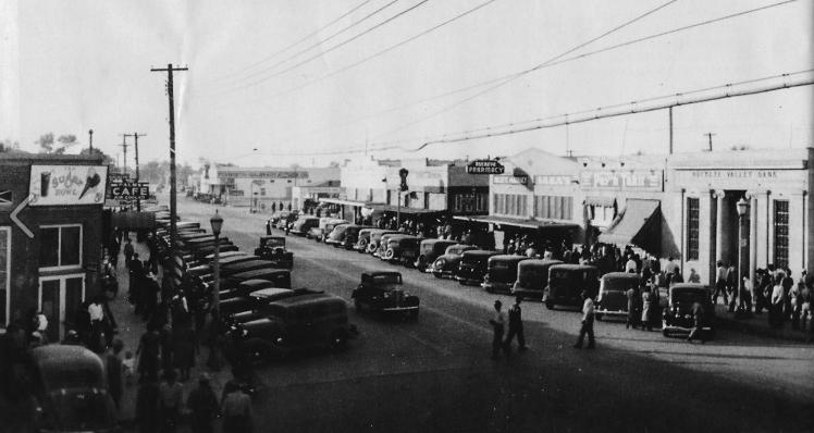 Public Art - Downtown Buckeye in the 1930's
