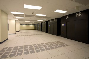Data Hall remodel prior to Colocation tenants moving into space