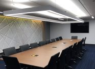 Conference room designed by Serbin Studio Inc