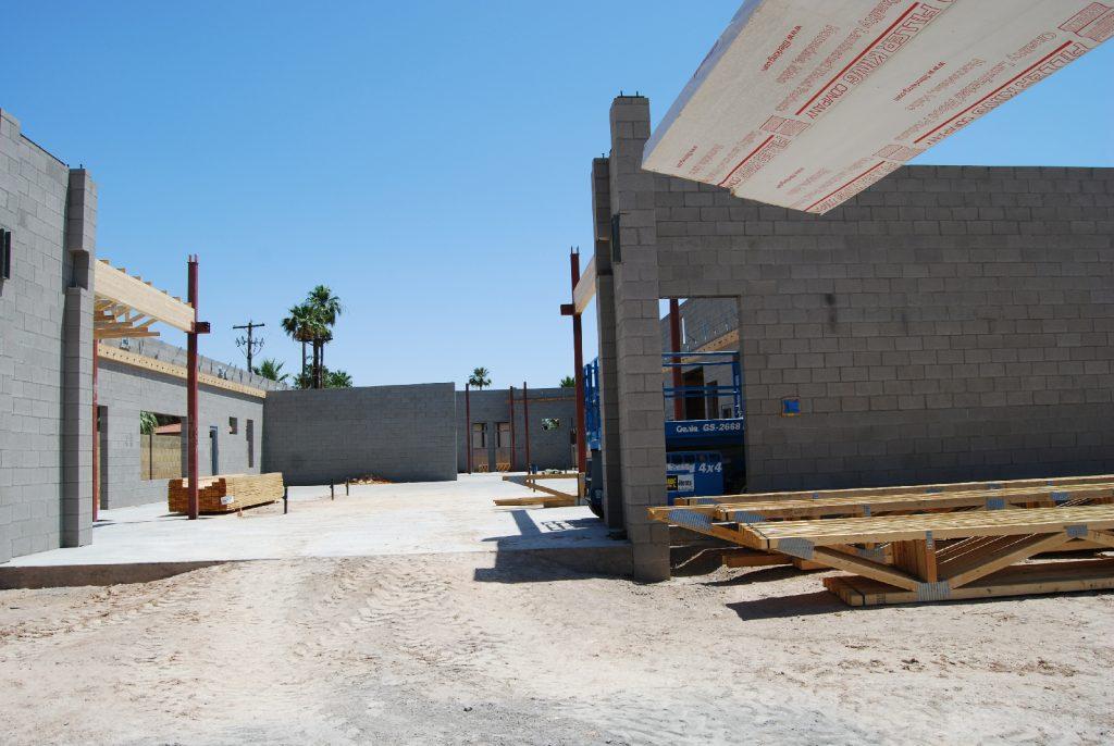Animal Hospital Design in Arizona - construction Photo