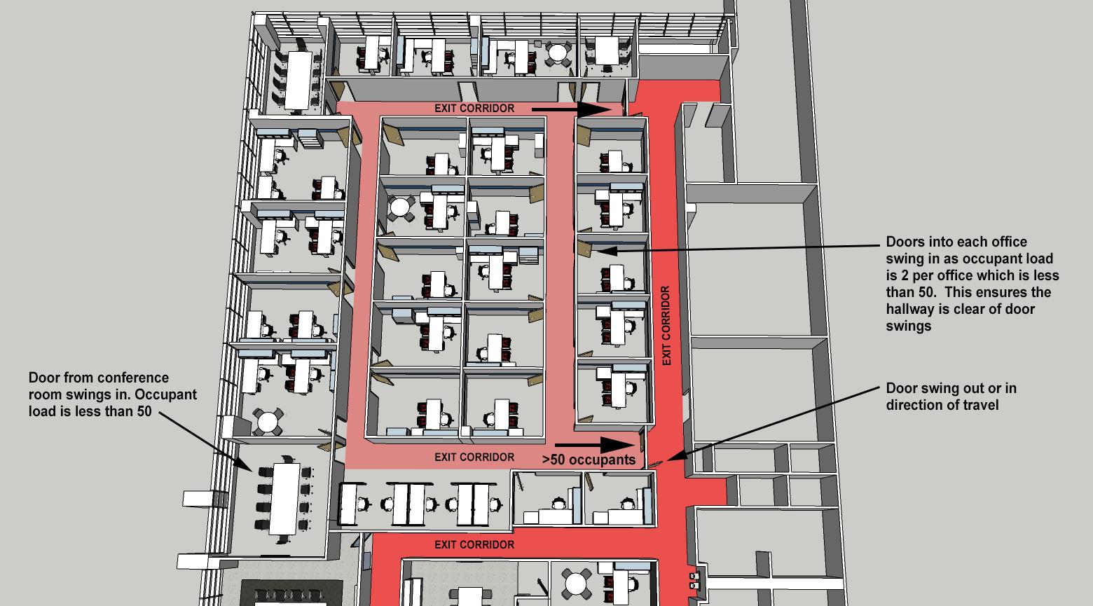 Door Swing Building Codes Serbin Studio