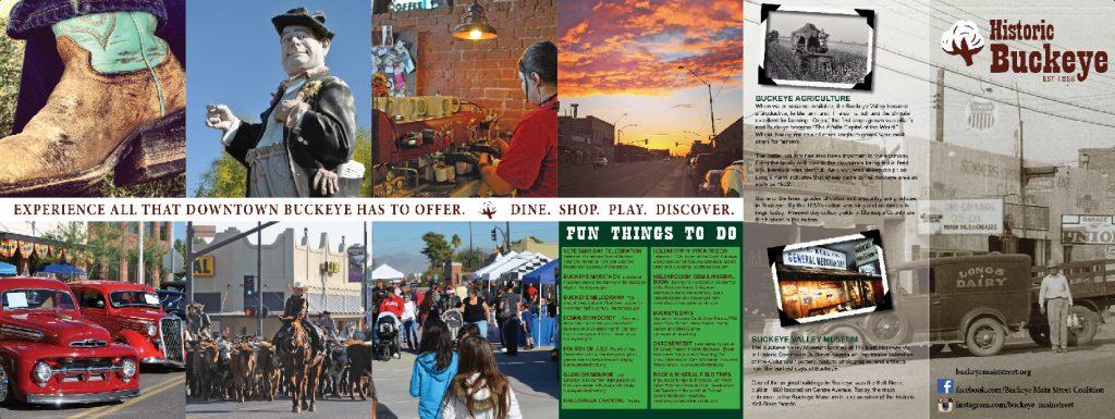 Buckeye Main Street Coalition Downtown Brochure