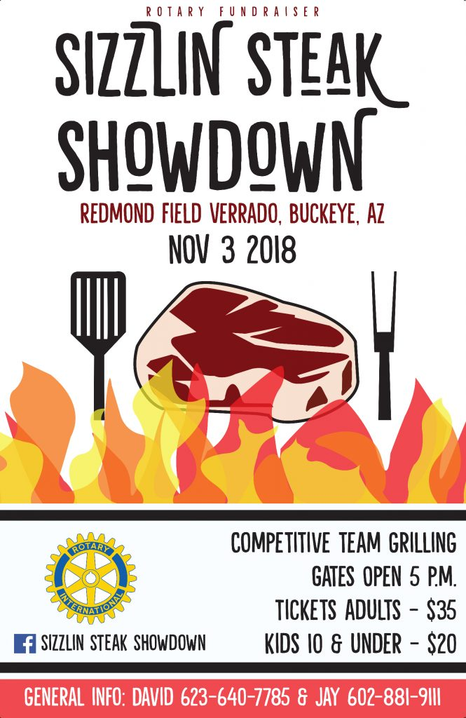 Graphic Design - Sizzlin Steak Showdown