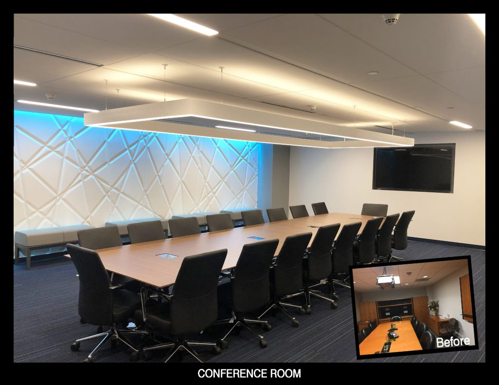 Serbin Studio Conference room design for AT&T