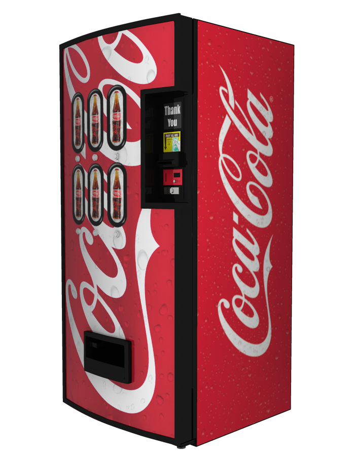 This image has an empty alt attribute; its file name is coke-machine.png