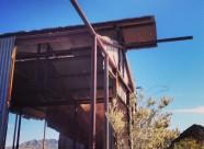 Harquahala Metal Building - Ghost Mining Town