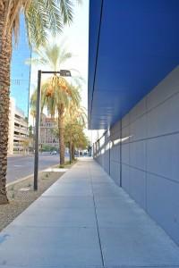 Digital Realty South Sidewalk.