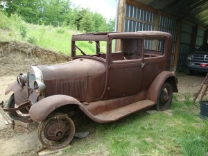 1920's Ford Model A (barn find)