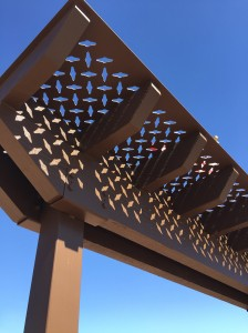 First Responder Water Jet Steel shade Canopy