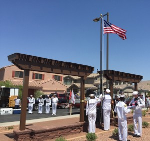 First Responder Memorial Plaza Event - June 30, 2015