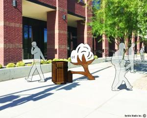 Buckeye Public Art - Cotton Boll