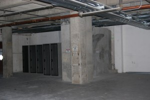 Raw space within Data Center building prior to remodel