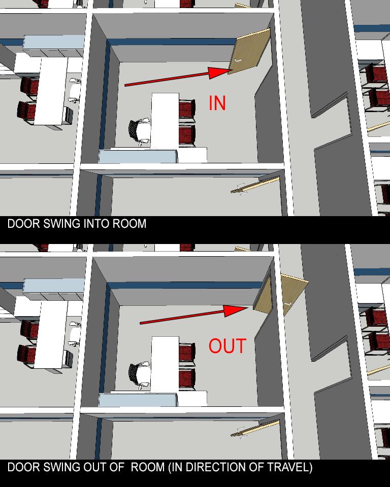 Arizona Architect - Code - Door Swing