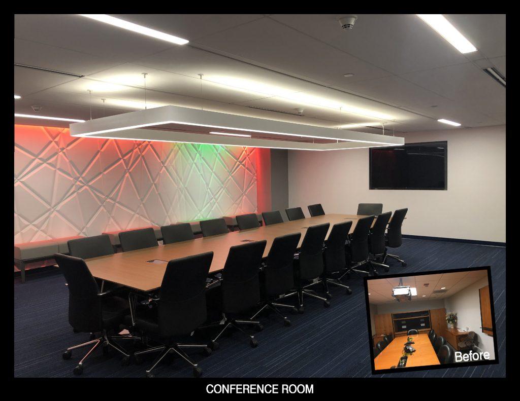 Serbin Studio Conference room design for AT&T